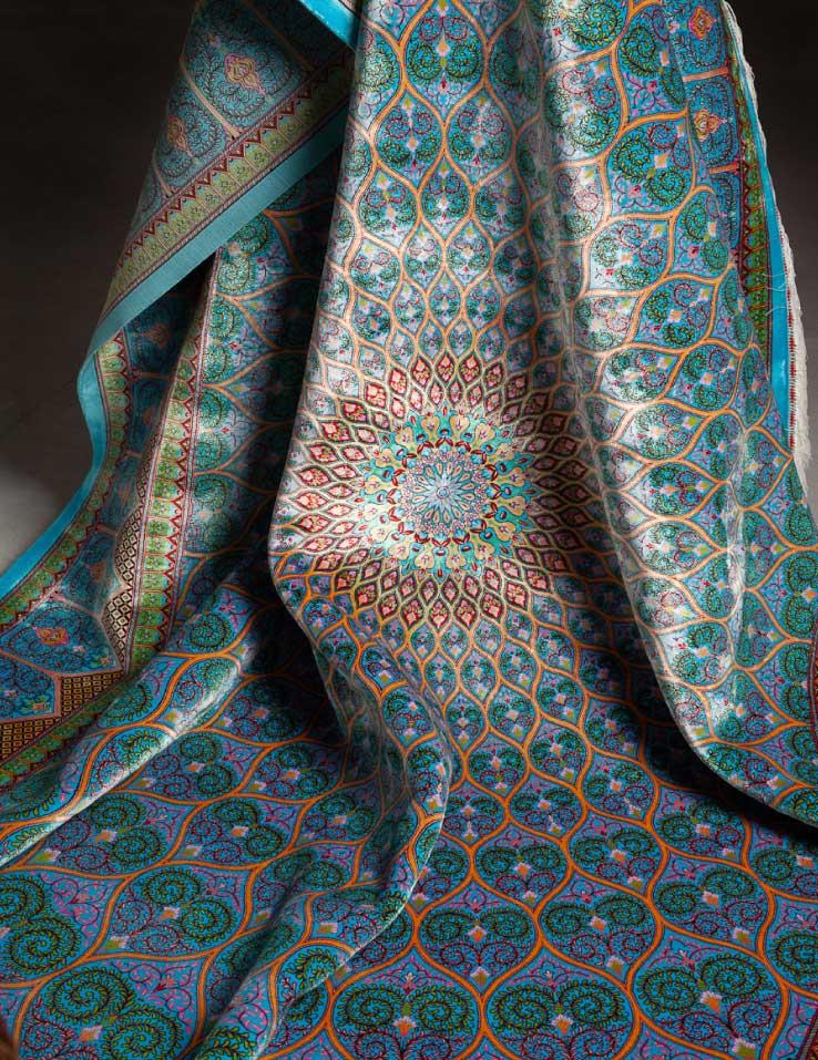 فرش ابریشم قم