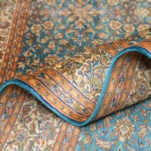 بررسی فرش قم و ویژگی های آن | شرکت فرش اکسیر