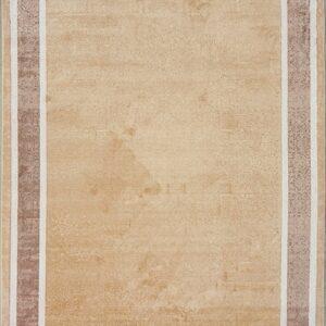 فرش شمسه رنگ گردویی کد 3011 | شرکت فرش اکسیر
