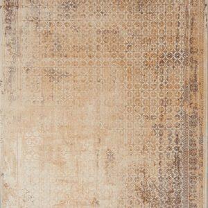 فرش شمسه رنگ بژ کد 3023 | شرکت فرش اکسیر