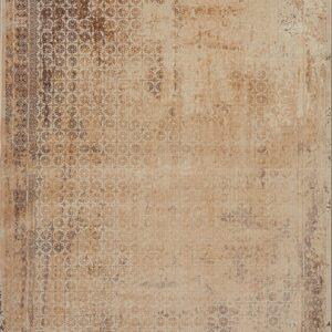 فرش شمسه رنگ کرم کد 3024 | شرکت فرش اکسیر