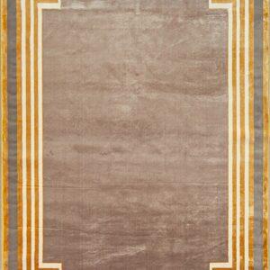فرش شمسه رنگ کرم کد 3026 | شرکت فرش اکسیر