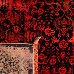 فرش باستان کد 1037 | فرش اکسیر