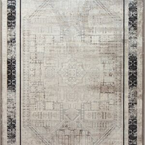 فرش مدرن نقره ای - کد 2011 | فرش اکسیر