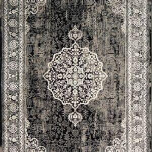 فرش مدرن رنگ سیاه - کد 2012 | فرش اکسیر