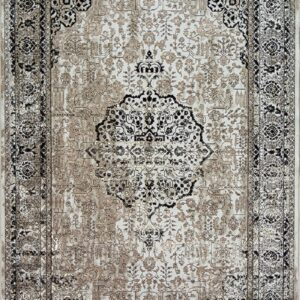 فرش مدرن رنگ سیاه - کد 2013 | فرش اکسیر