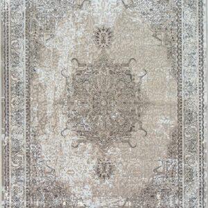 فرش مدرن رنگ خاکستری - کد 2014 | فرش اکسیر