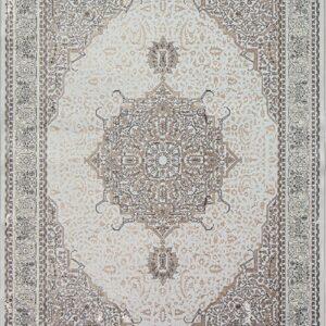 فرش مدرن رنگ نقره ای - کد 2015 | فرش اکسیر