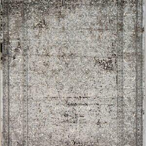فرش مدرن رنگ نقره ای - کد 2016 | فرش اکسیر