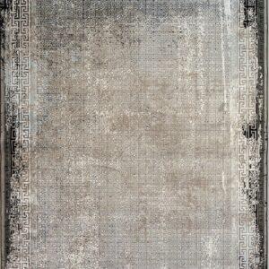 فرش مدرن رنگ خاکستری - کد 2017 | فرش اکسیر