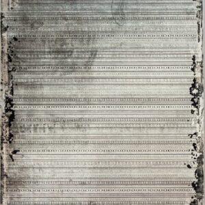 فرش مدرن رنگ خاکستری - کد 2019 | فرش اکسیر