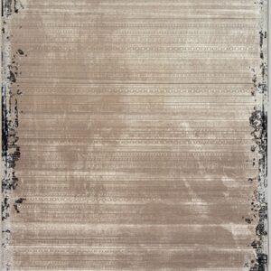 فرش مدرن رنگ نقره ای - کد 2020 | فرش اکسیر
