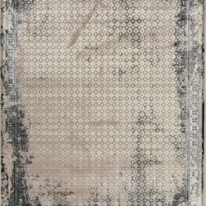 فرش مدرن رنگ نقره ای - کد 2021 | فرش اکسیر