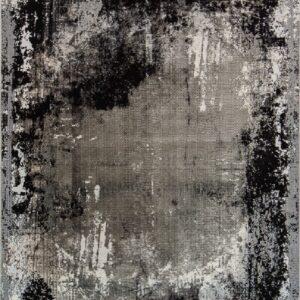 فرش مدرن رنگ نقره ای - کد 2024 | فرش اکسیر