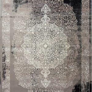 فرش مدرن رنگ خاکستری - کد 2026 | فرش اکسیر