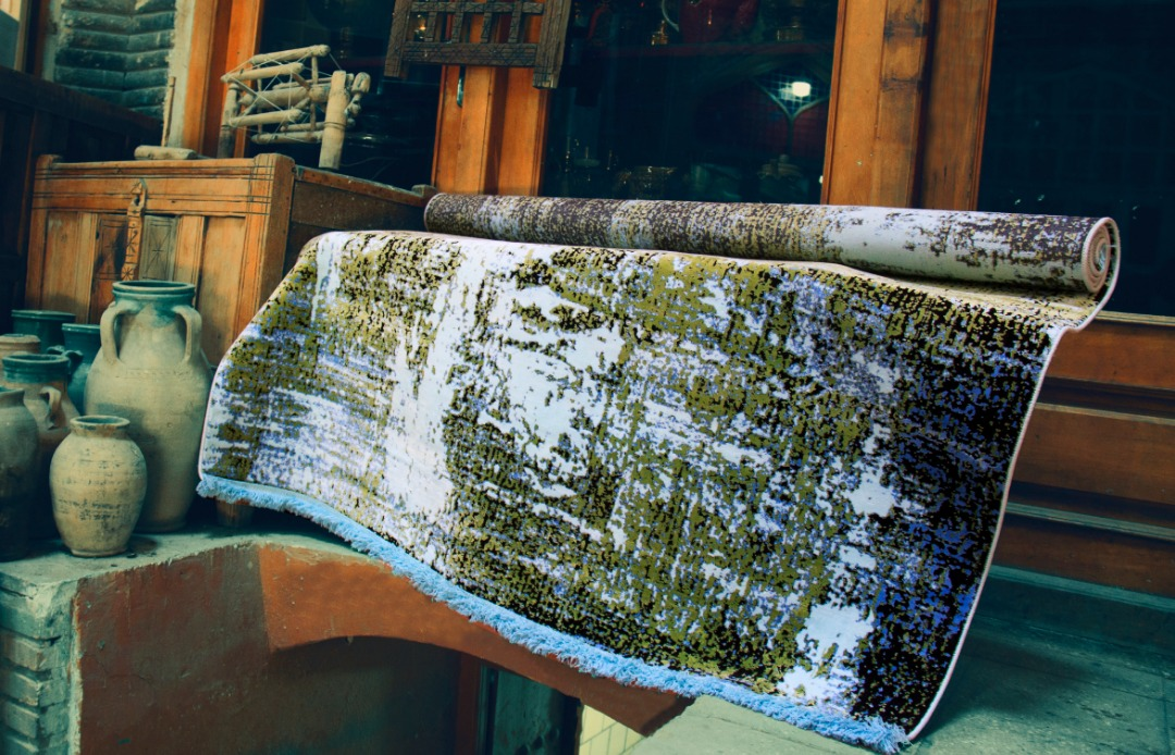 مجموعه فرش ماشینی باستان | فرش اکسیر