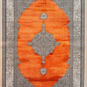 فرش باستان کد 1023 | فرش اکسیر