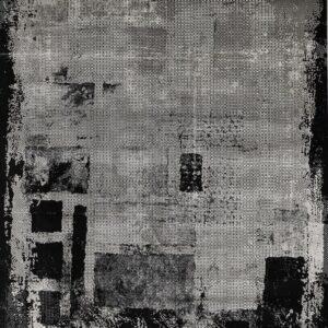 فرش مدرن رنگ طوسی - کد 2035 | شرکت فرش اکسیر