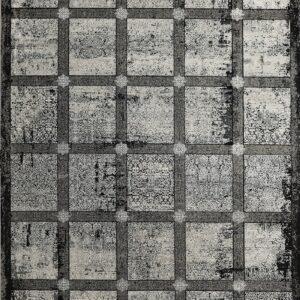 فرش مدرن رنگ طوسی - کد 2036 | شرکت فرش اکسیر
