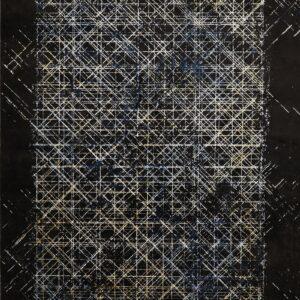 فرش گلدن ادیشن مشکی کد 5013 | شرکت فرش اکسیر هالی