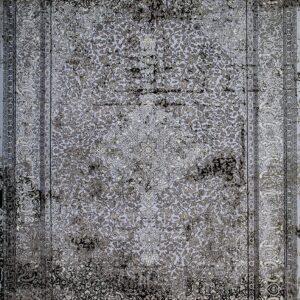 فرش مدرن رنگ طوسی، کد 2040 | شرکت فرش اکسیر