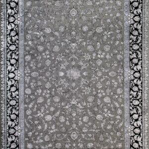 فرش مدرن رنگ طوسی، کد 2037   شرکت فرش اکسیر