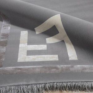 فرش مدرن رنگ طوسی - کد 2030 | شرکت فرش اکسیر هالی