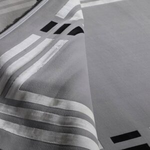 فرش مدرن رنگ طوسی - کد 2033 | شرکت فرش اکسیر