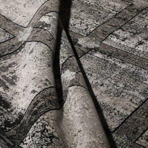 فرش مدرن رنگ طوسی، کد 2036 | شرکت فرش اکسیر