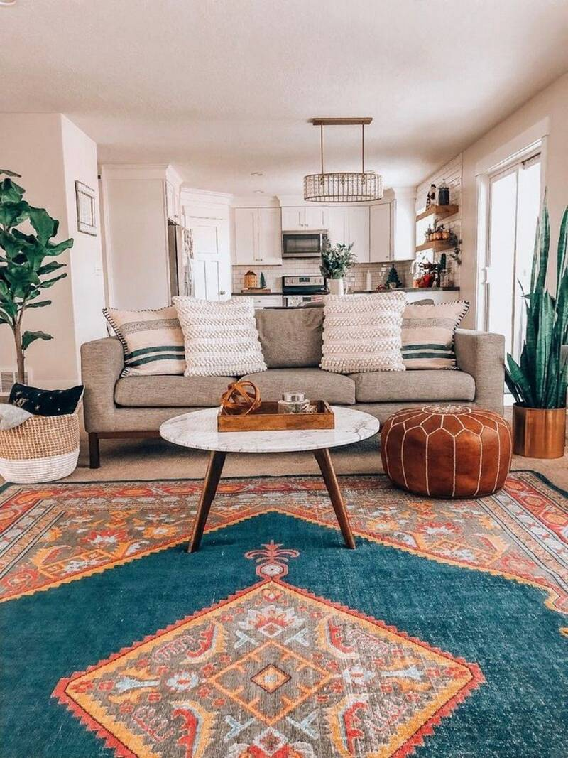 فرش در دکوراسیون مدرن | شرکت فرش اکسیر