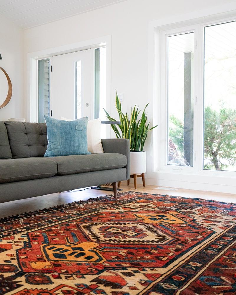 بهترین رنگ فرش برای پذیرایی | شرکت فرش اکسیر