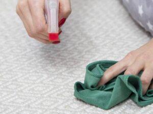 روش شست و شو و پاک کردن لکه از فرش بامبو   شرکت فرش اکسیر
