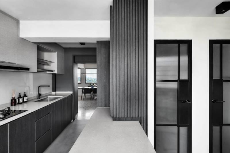 طراحی داخلی مونوکروم | شرکت فرش اکسیر