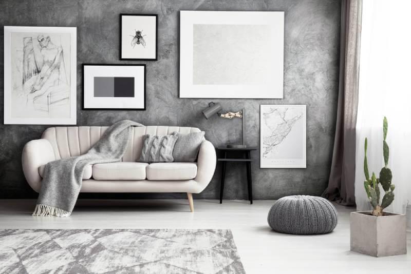 مونوکروم در طراحی داخلی | شرکت فرش اکسیر