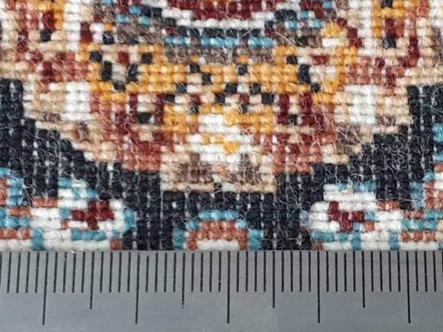 تراکم فرش و تفاوت آن با شانه فرش چیست؟ | شرکت فرش اکسیر