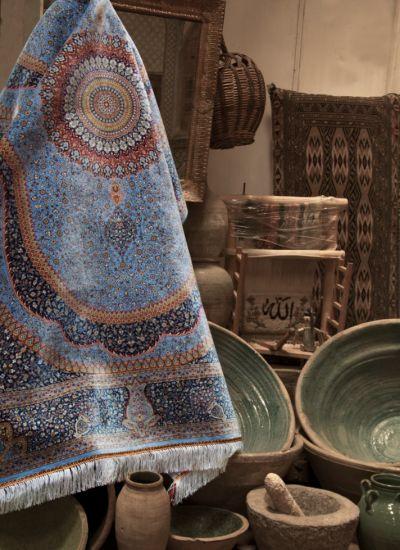 لطافت و درخشش فرش دستباف گونه اکسیر