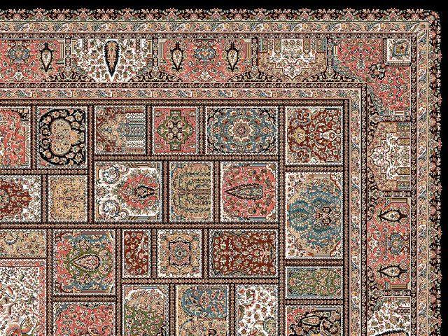 مشخصات فرش طرح خشتی چیست؟ | شرکت فرش اکسیر